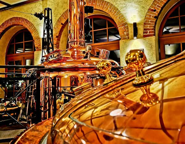 Bayerischer Bahnhof - Brewery