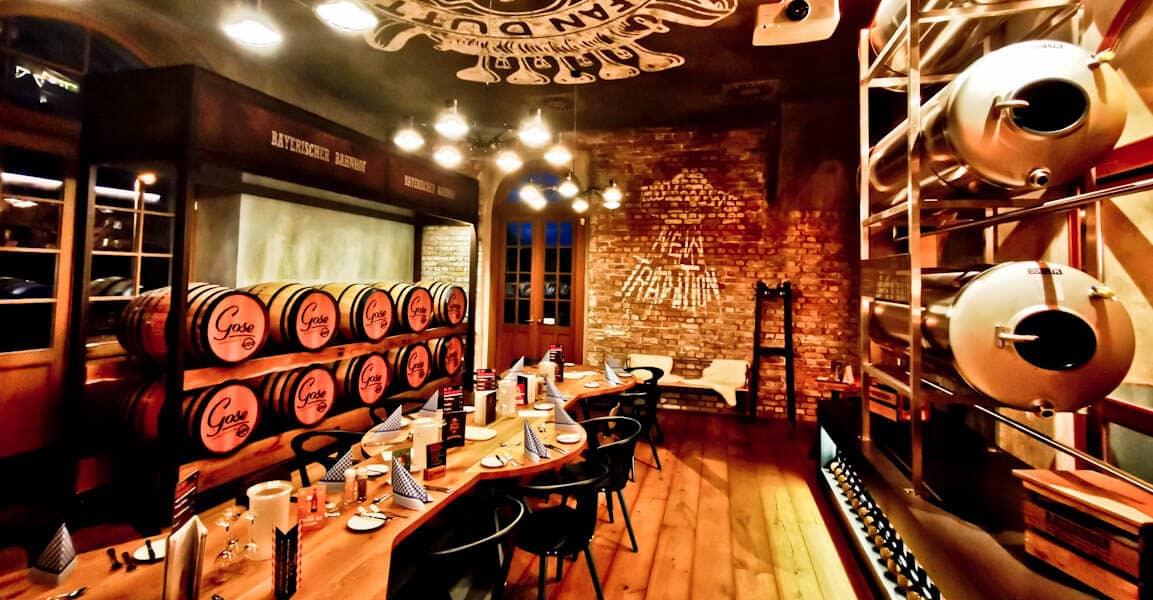 Bayerischer Bahnhof Brewery Beer Restaurant In Leipzig Only By Land
