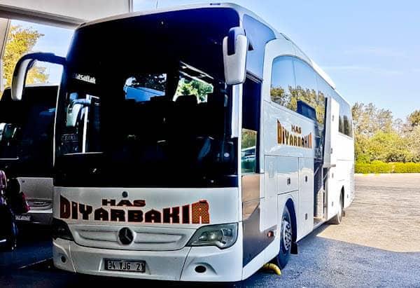 Bus from Sanliurfa to Diyabakir