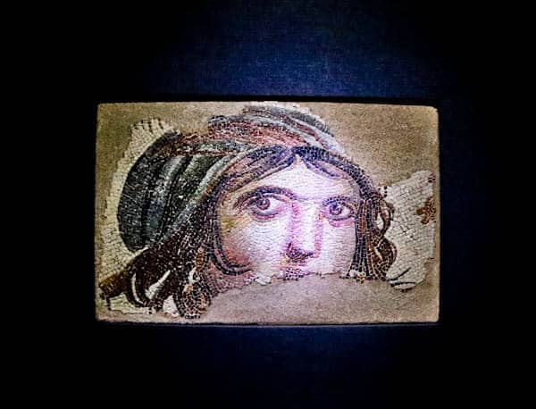 Zeugma Mosaic Museum - gypsy girl