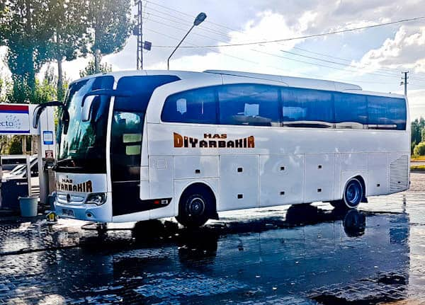 Bus from Gaziantep to Sanliurfa