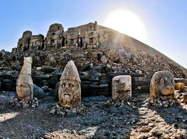 East Terrace at Mount Nemrut Turkey