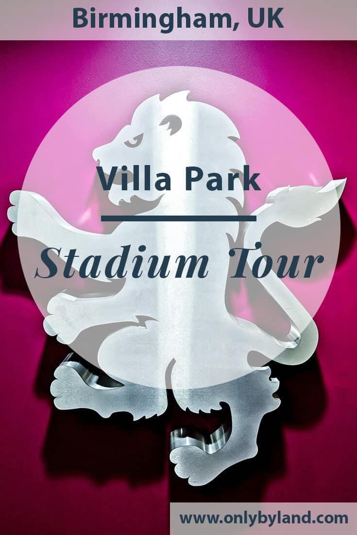 Villa Park Stadium Tour - Aston Villa
