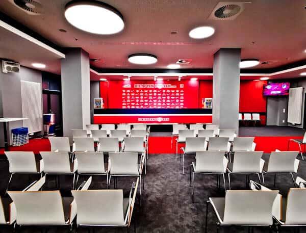 RB Leipzig Press Room