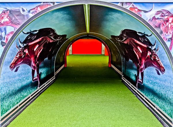 Red Bull Arena - Players Tunnel