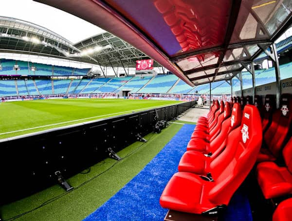 Dugouts at Red Bull Arena
