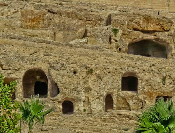 Rock Tombs in Sanliurfa Turkey