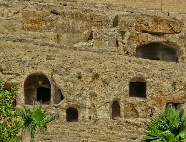 Rock Tombs in Sanliurfa Turkey