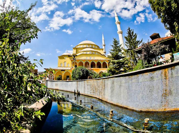 Hazreti Omer Mosque - Van Turkey