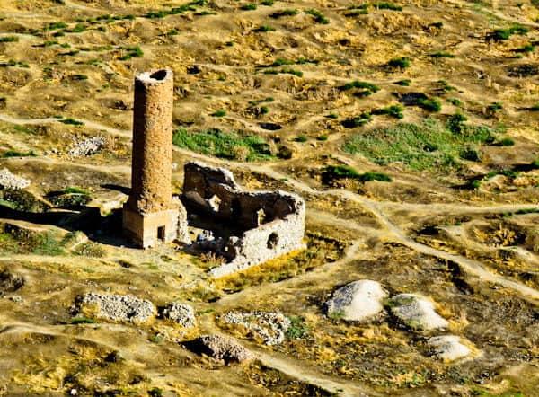 Red Mosque Minaret - Van Turkey