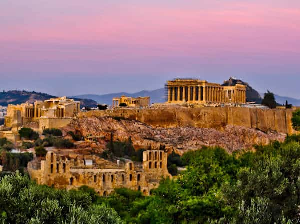 Acropolis of Athens Panoramic
