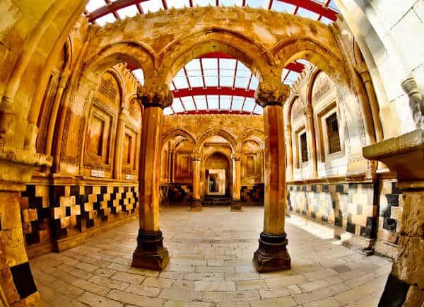 Ishak Pasha Palace Interior