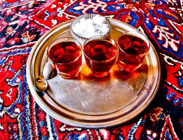 Iranian Tea in Tabriz