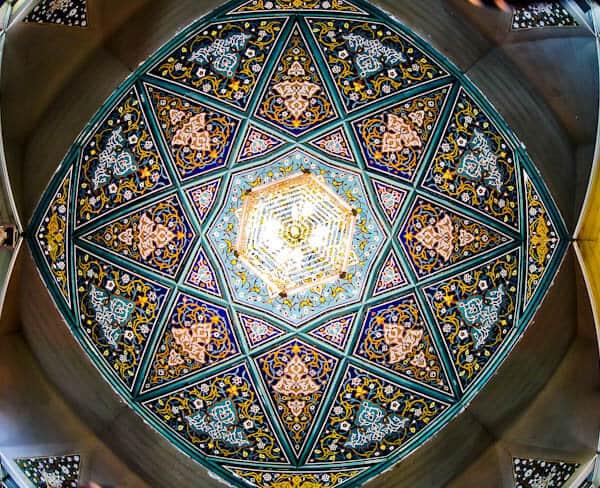 Maqbaratoshoara - Ceiling