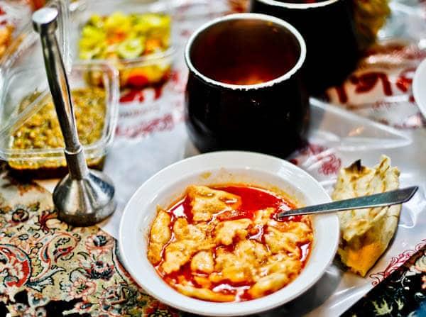 Eat Abgoosht in Iran