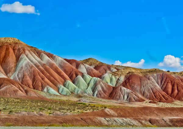 Rainbow Mountains in Iran - Tabriz to Zanjan