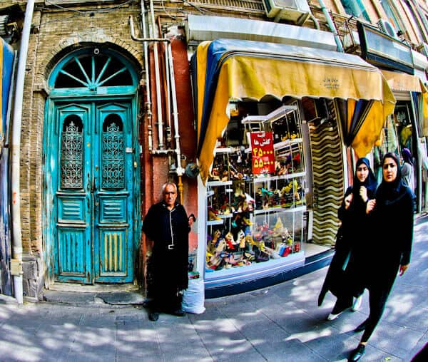 Street Photography in Tabriz