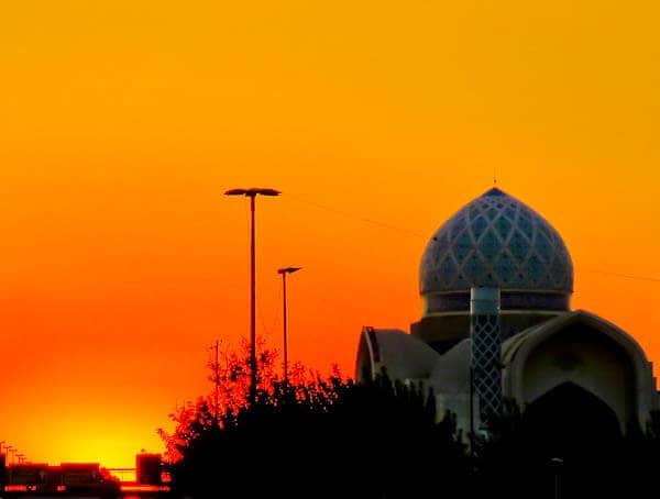 Sunset Spot in Tehran Iran