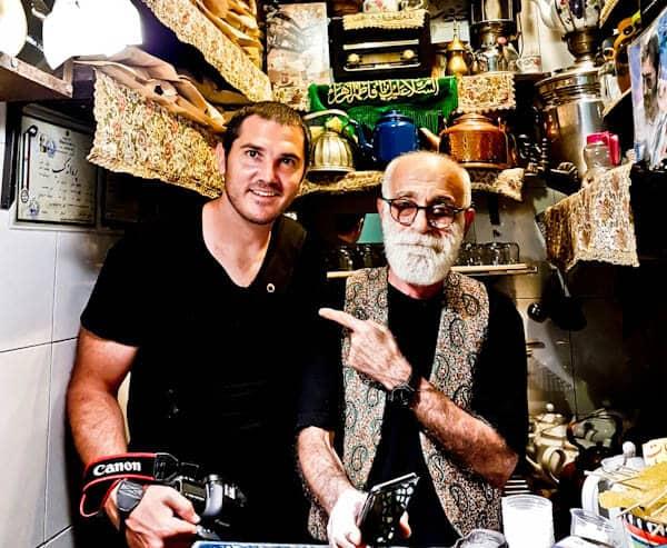 Haj Ali Darvish Teahouse - Tehran Bazaar
