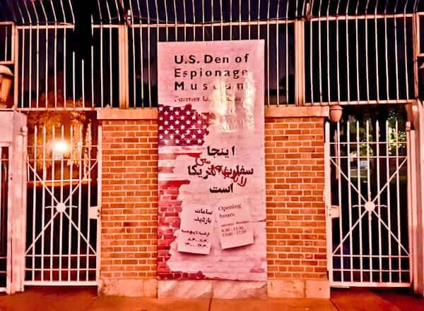 Former US Embassy in Tehran Iran