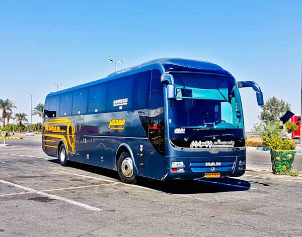 Bus from Tehran to Isfahan