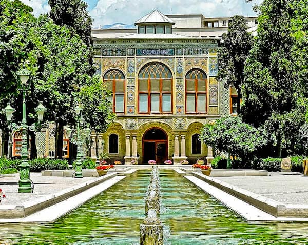 Golestan Palace UNESCO Site - Tehran Iran