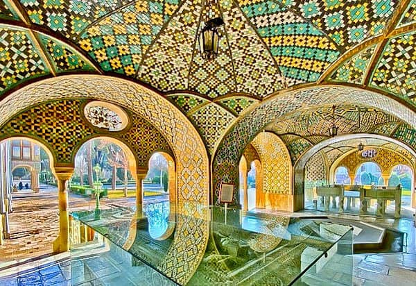 Golestan Palace Interior