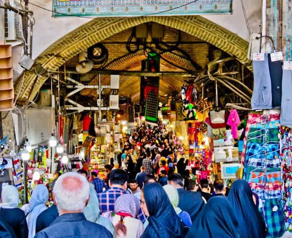 Tehran Iran Bazaar