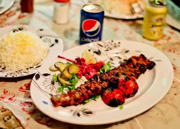 Kebab in Iran
