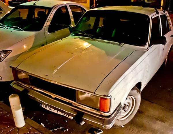 Classic Cars in Iran