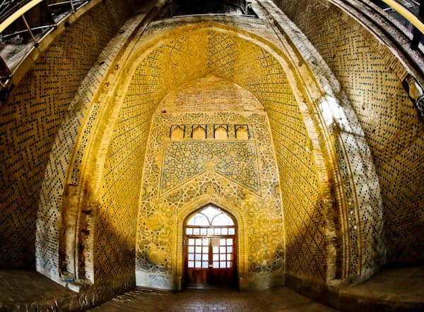 Soltaniyeh Dome inside