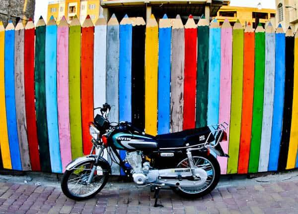 Street art in Zanjan Iran