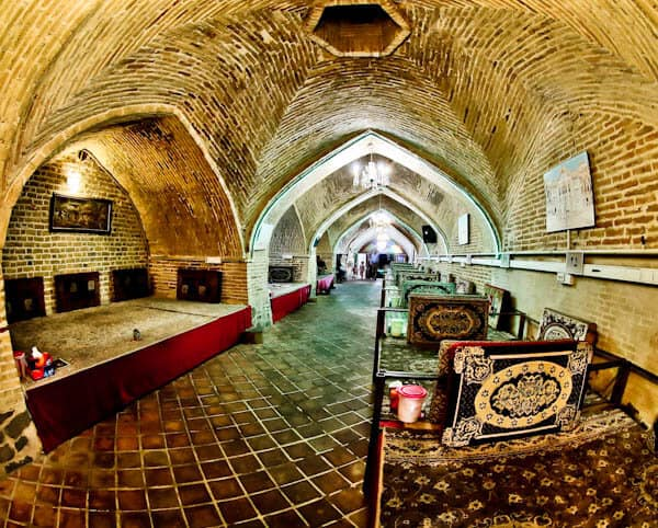 Eat in a Caravanserai Restaurant in Iran
