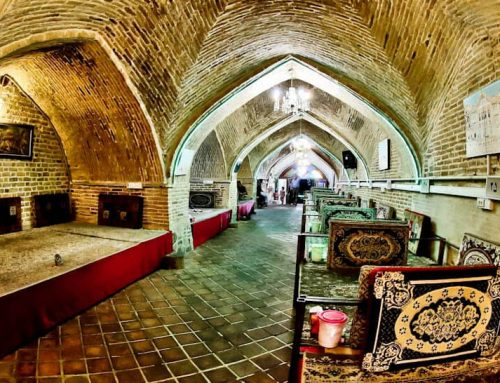 Things to do in Zanjan Iran + Caravanserai Restaurant