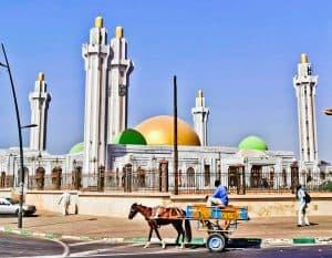 Massalikoul Djinane Mosque - New Mosque in Dakar Senegal