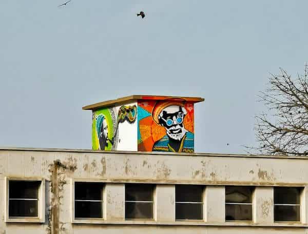 Street Art in Dakar Senegal