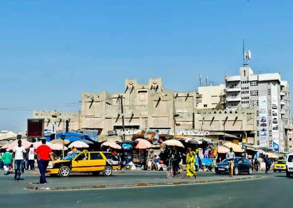 Sandaga Market, Dakar Senegal