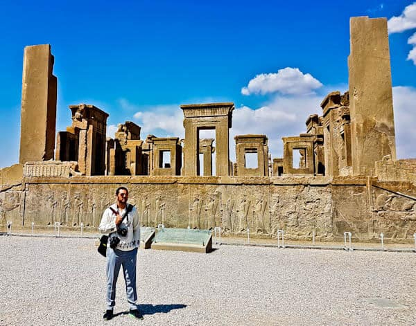 Instagram Spots at Persepolis