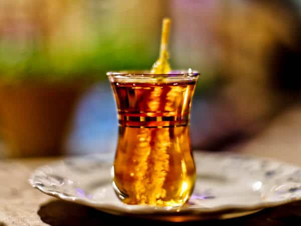 Iranian Tea with Crystal Sugar - Nabaat
