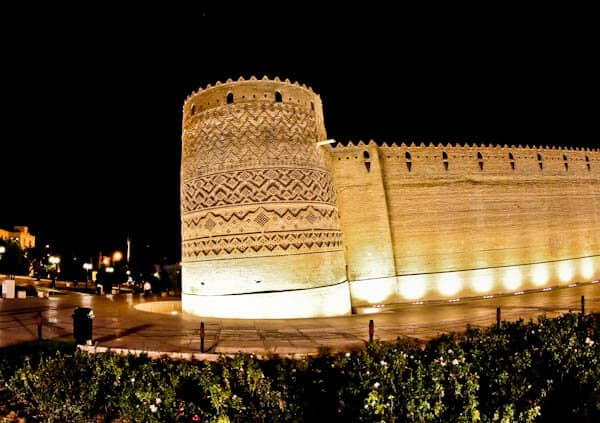 Castle of Karim Khan - Leaning Tower