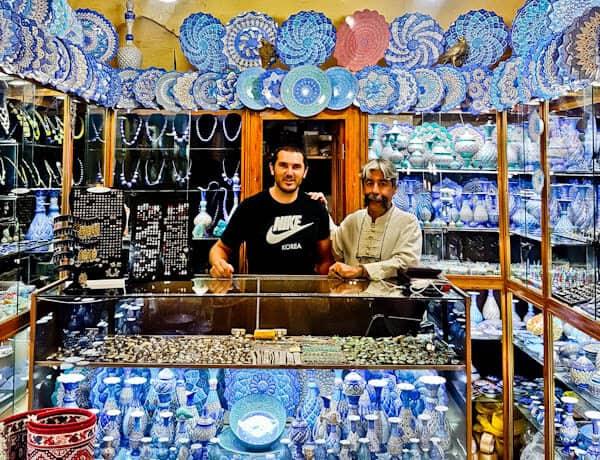Caravanserai in Shiraz Bazaar