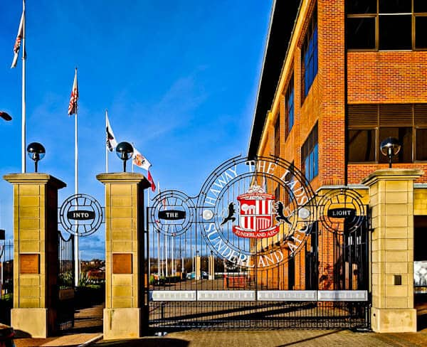 Stadium of Light Gates
