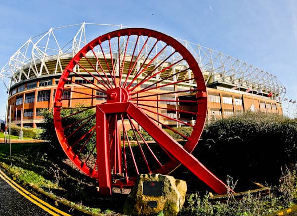 Pit Wheel in front of Stadium of Light