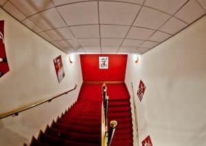 Legends staircase at Sunderland AFC