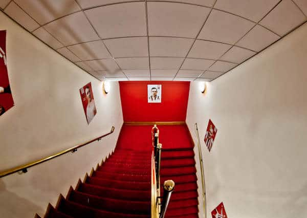 Legends staircase at Sunderland AFC