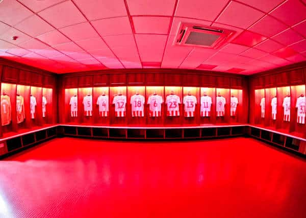 Sunderland AFC Dressing Rooms