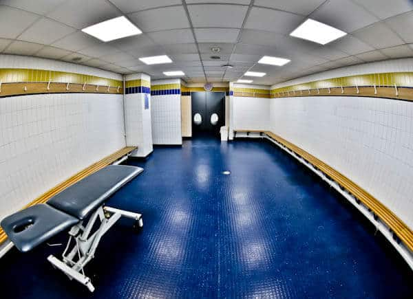 Away Team Dressing Rooms at Sunderland AFC