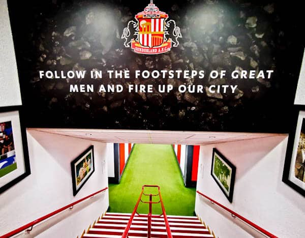 Players Tunnel - Stadium of Light