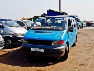 Ziguinchor to Bissau shared minivan