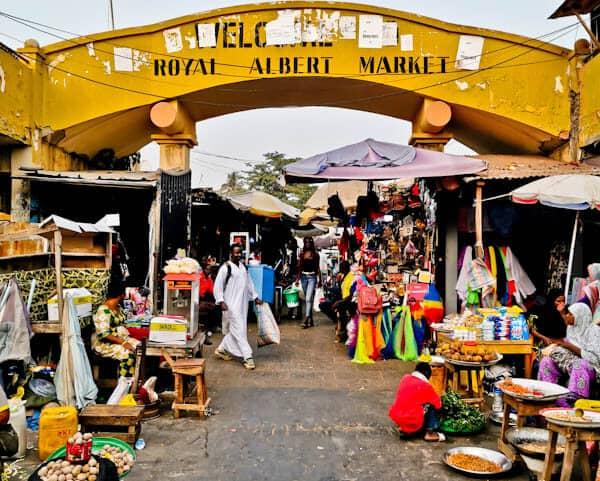 Albert Market - Banjul Gambia